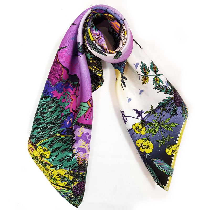 Theory Of Flight Silk Neckerchief