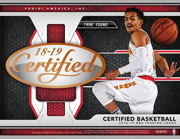 2018/19 Panini Certified Basketball | BH35 Live Group Breaks