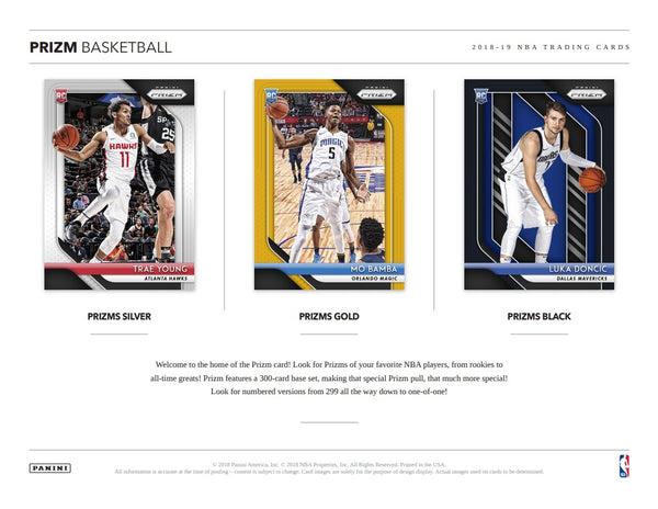 2018/19 Panini Prizm Basketball | BH35 Live Group Breaks