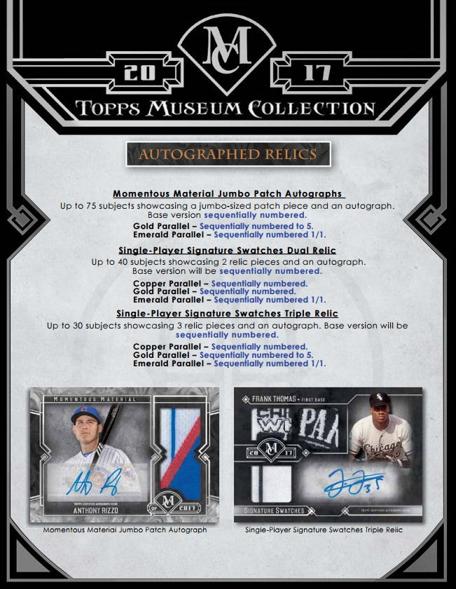 2017 Topps Museum Collection Baseball BH35sportscards.com