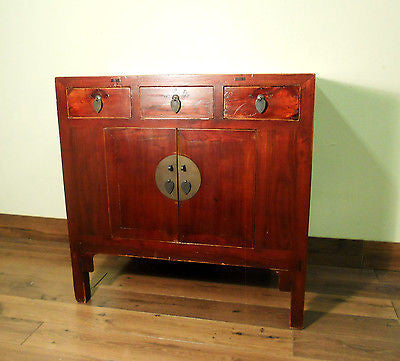 Antique Chinese Ming Cabinet/sideboard (5665), Circa 1800-1849