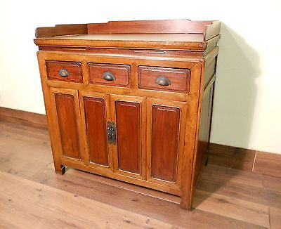 Antique Chinese Rosewood/Yellow Zelkova Sideboard (5533), Circa 1850-1899