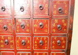 Antique Chinese Apothecary Cabinet (3280)