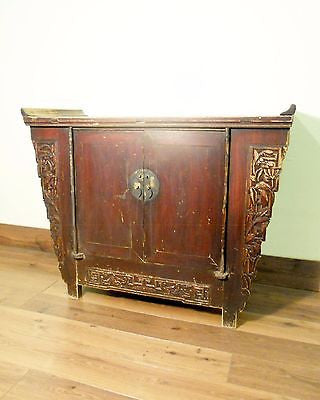 "Antique Chinese ""Butterfly"" Coffer (5692), Circa 1800-1849"