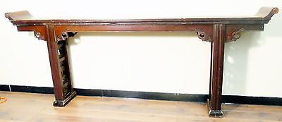 Antique Chinese Altar Table (5055), Zelkova Wood, Circa 1800-1849