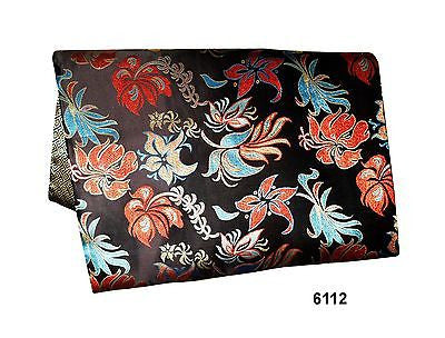 Custom-Made in USA, Art Silk Throw or Bed Scarf (6112), Multi-Color