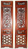 Antique Chinese Screen Panels (5053) (Pair) Cunninghamia wood, Circa 1800-1849