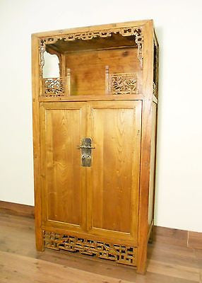 Antique Chinese Ming Wan-Li Cabinet (5560), Circa early of 19th century