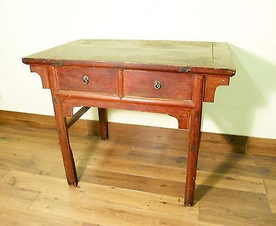 Antique Chinese Ming Painting Table (5717), Cypress Wood, Circa 1800-1849