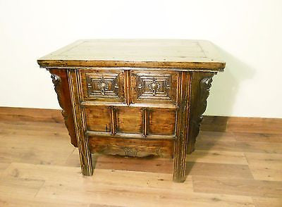 "Antique Chinese ""Butterfly"" Coffer (5573), Circa 1800-1849"