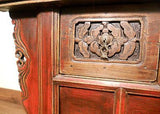 "Antique Chinese ""Butterfly"" Coffer (5191),  Cunninghamia/Elm Wood, Circa 1800-1849"
