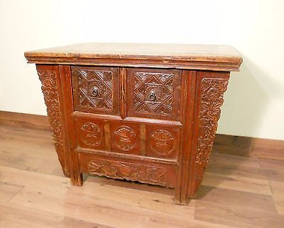 "Antique Chinese ""Butterfly"" Coffer (5605), Circa 1800-1849"