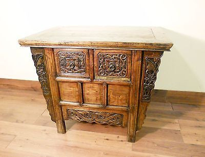 "Antique Chinese ""Butterfly"" Coffer (5581), Circa 1800-1849"
