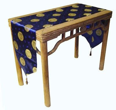 Custom-Made in USA, Art Silk Table or Bed Runner (6005)