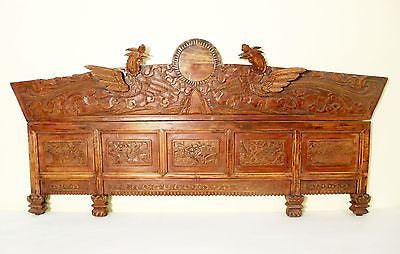 "Antique ""Phoenix"" Door Lintel from Boudoir (5377), Circa 1800-1849"