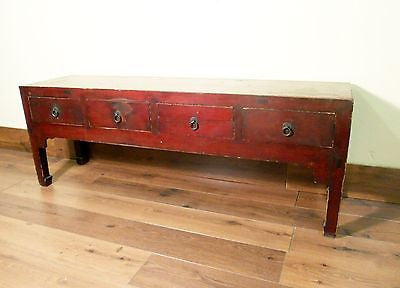 Antique Chinese Ming Cabinet/Coffee Table (5238), Cypress Wood, Circa 1800-1849