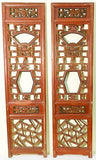Antique Chinese Screen Panels (5018) (One Pair) Cunninghamia Wood, 1800-1849
