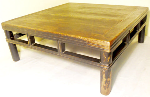 Antique Chinese Ming Square Coffee Table (2758), Circa 1800-1849