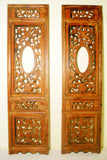 Antique Chinese Screen Panels (2864)(Pair) Cunninghamia Wood, Circa 1800-1849