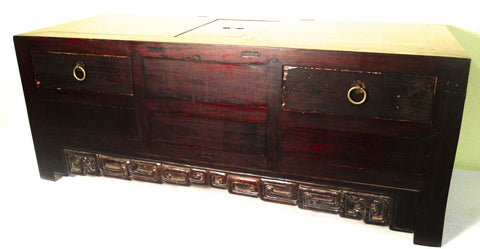 Antique Chinese Ming Kang Cabinet/Trunk (5162), Circa 1800-1849