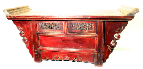 Antique Chinese Altar Cabinet (5195), Phoebe Nanmu Wood, Circa 1800-1849