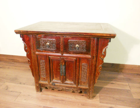 "Antique Chinese ""Butterfly"" Coffer (5578), Circa 1800-1849"