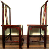 Antique Chinese High Back Chairs (5639) (Pair), Circa 1800-1849