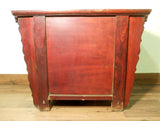 "Antique Chinese Ming ""Butterfly"" Coffer (5777), Cypress/Elm Wood, Circa 1800-1849"