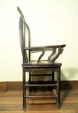 Antique Chinese High Back Arm Chair (5798), Circa 1800-1849