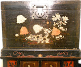 Antique Chinese Chest On Chest (5978), Circa 1800-1849