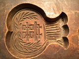 Antique Hand Carved Wooden Candy/Cookie/Cake Mold (7316), Circa Late of 1800