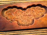 Antique Hand Carved Wooden Candy/Cookie/Cake Mold (7351), Circa Late of 1800