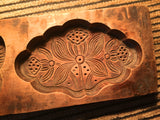 Antique Hand Carved Wooden Candy/Cookie/Cake Mold (7358), Circa Late of 1800