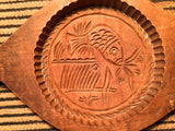 Antique Hand Carved Wooden Candy/Cookie/Cake Mold (7402), Circa Late of 1800