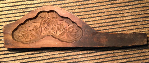 Antique Hand Carved Wooden Candy/Cookie/Cake Mold (7414), Circa Late of 1800