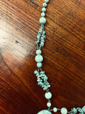 Handmade Turquoise Necklace (8303)