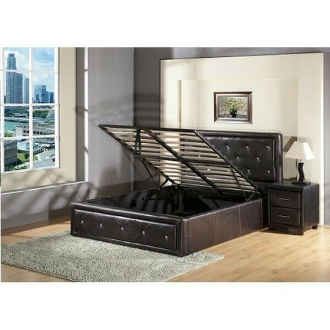 Ottoman Storage Bed Gas Lift U Bed and Memory Foam Mattress option