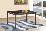 Marble Effect Dining Table and 4 or 6 Chairs Set Available in Black and Brown : Express Delivery