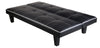 New Cheap Modern Designer PU Leather 3 Seater Sofa Bed - Black sofabed