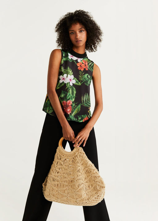 Top Estampado Tropical
