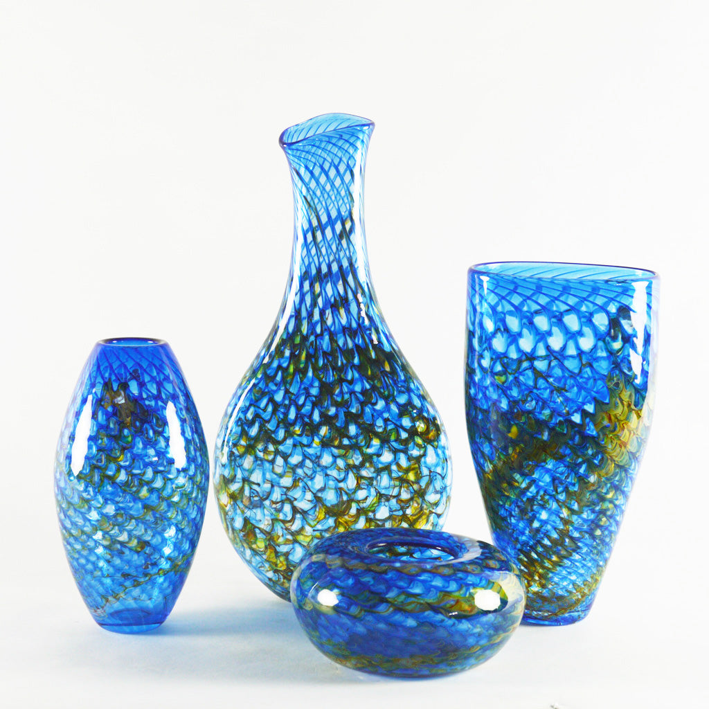 Dragon Scale Vases