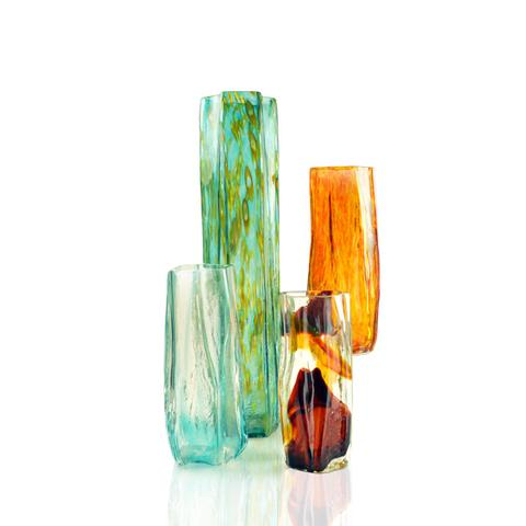 River Timber Vases