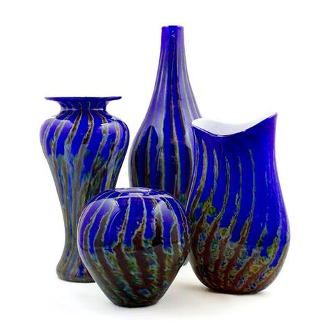 Fire & Ice Vases