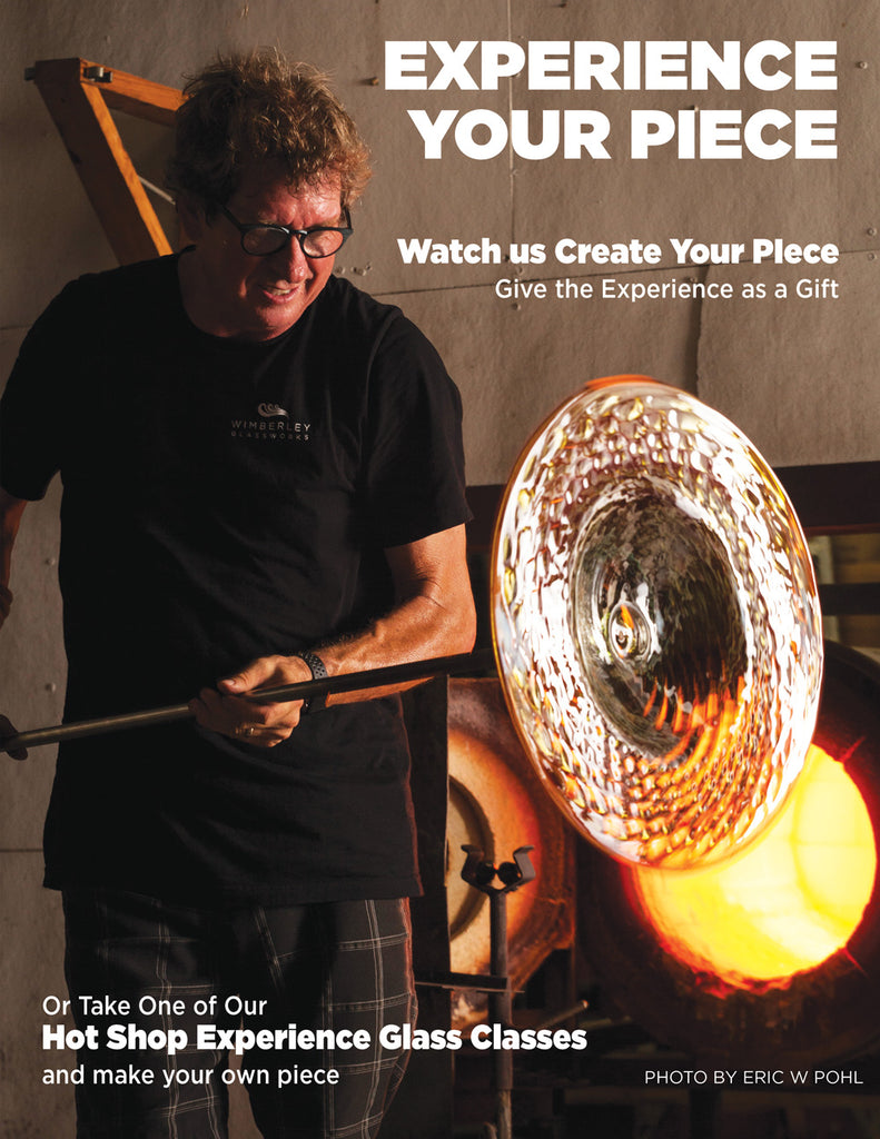 Glass blowing demonstrations and Class