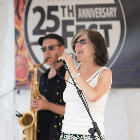 Marcia Ball performing at 25th Fest