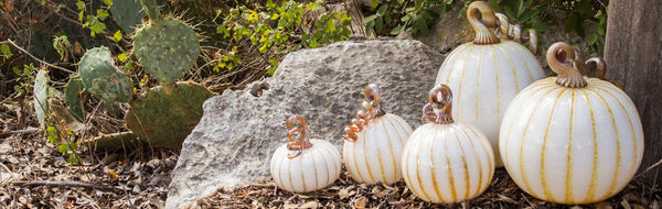Wimberley Glassworks Glass Pumpkin Patch