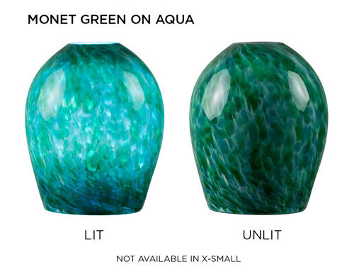 Monet Green on Aqua