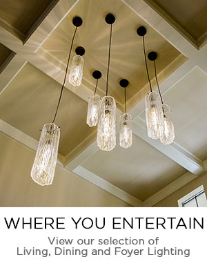 Blown Glass Living Room, Dining Room and Foyer Lighting, Chandeliers and Specialty Lighting