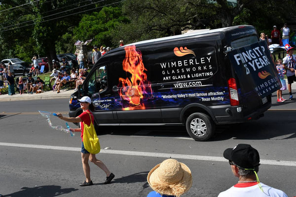 WGW at the Wimberley 4th of July Parade