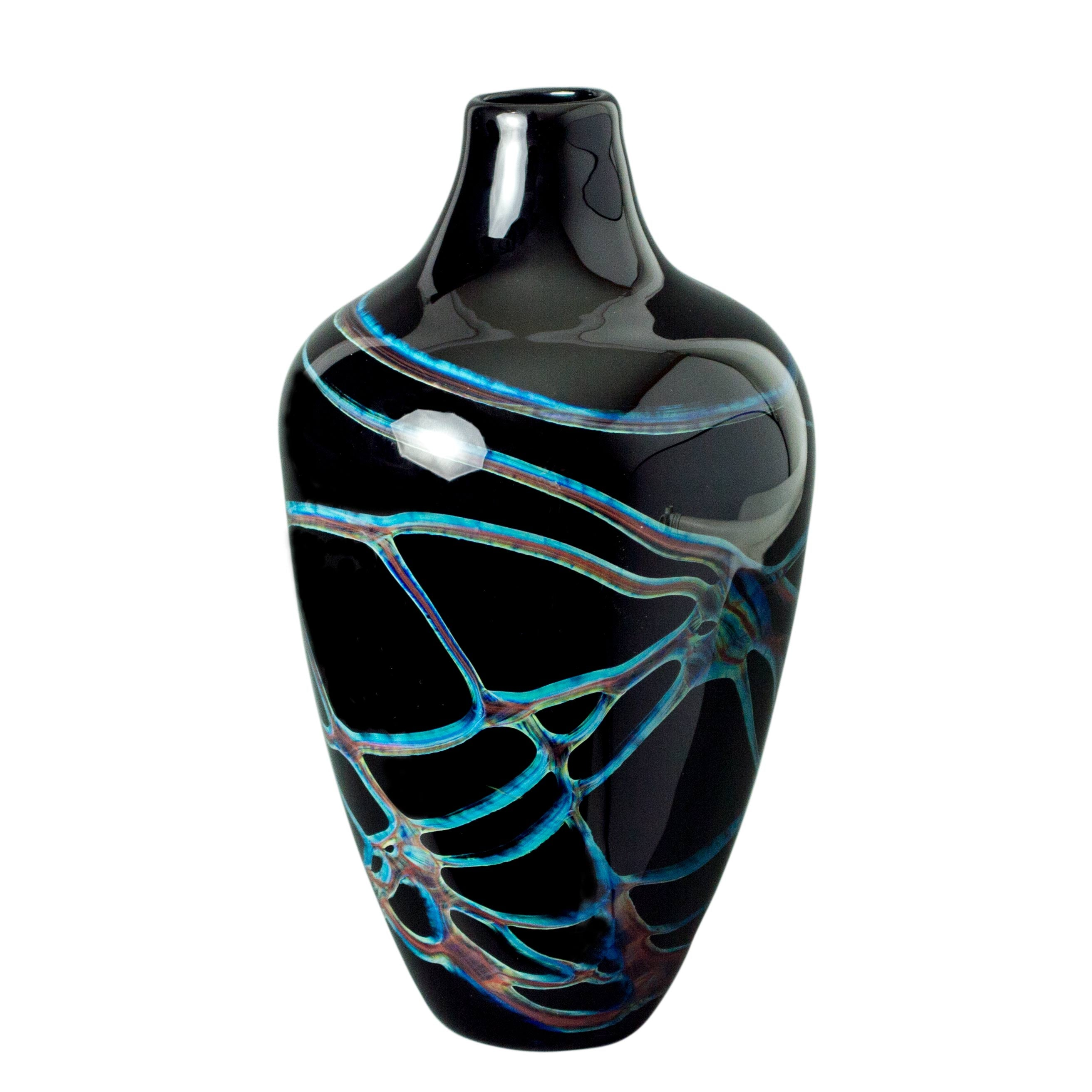 art glass vase handmade